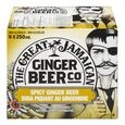 Soda piquant au gingembre The Great Jamaican Ginger Beer Co 6x250 ml