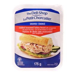 The Deli-Shop Shaved cooked seasoned turkey breast 175 g