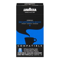 Lavazza Intensity 6 Decaffeinato Ricco espresso coffee capsules 10 un