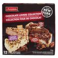 Irresistibles Frozen Chocolate Lovers Collection Cheesecake Assortment 12 un - 1 kg