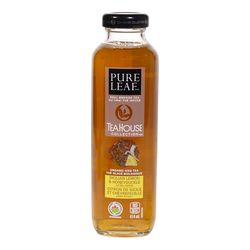 Pure Leaf Organic Sicilian lemon & honeysuckle flavoured iced black tea 414 ml
