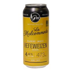 La Voie Maltée La Malcommode white Hefeweizen 473 ml - can
