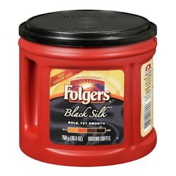 Folgers Black Silk® ground coffee 750 g