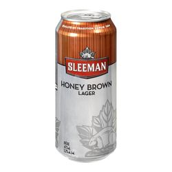 Bière Honey Brown de type Lager Sleeman 473 ml - canette