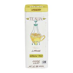 Tealia Limone loose leaf green tea 100 g